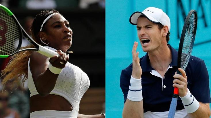 Andy Murray és Serena Williams együtt indul vegyes párosban Wimbledonban