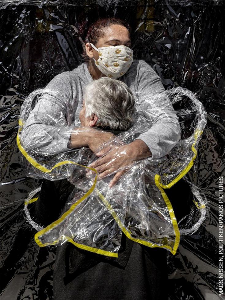 Koronavírus-témájú kép lett az év fotója a World Press Photo sajtófotóversenyen