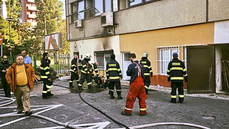 91 éves férfi holttestét találták a kiégett lakásban