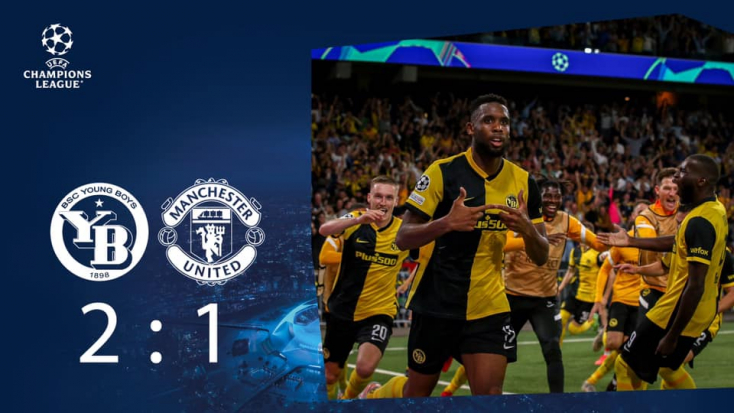 Bajnokok Ligája: Kikapott Svájcban a Ronaldóval felálló Manchester United
