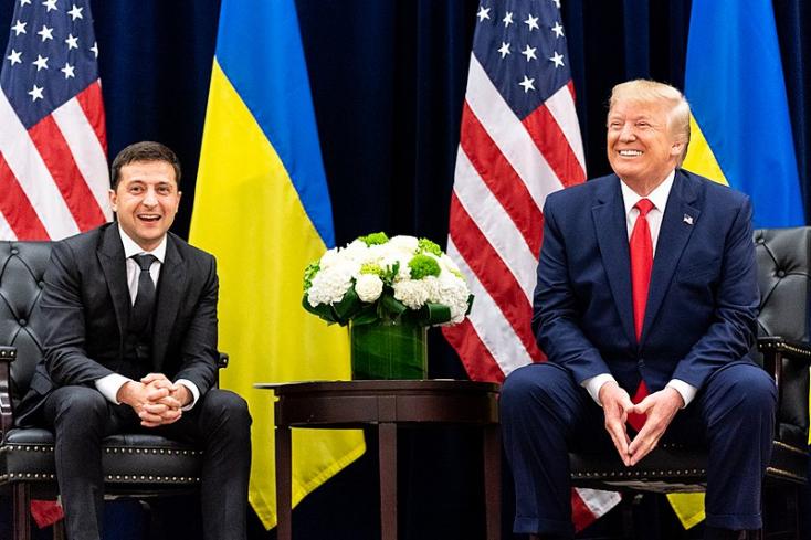 Már több mint egy éve ő az új ukrán államfő, de csak most látogat Pozsonyba