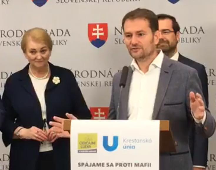 Az exKDH-s ZáborskáMatovičcsalindul a választásokon