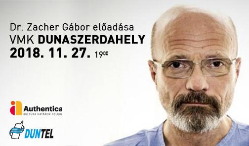 Dr. Zacher Gábor előadása Dunaszerdahelyen!