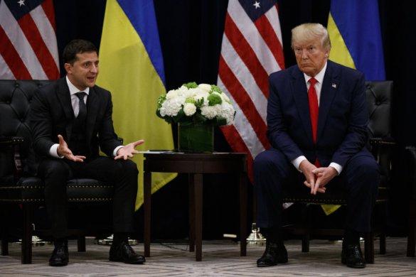 """Az ukrán államfő szerint a Trumppal folytatott beszélgetésben nem volt szó """"valamit valamiért"""" kérésről"""