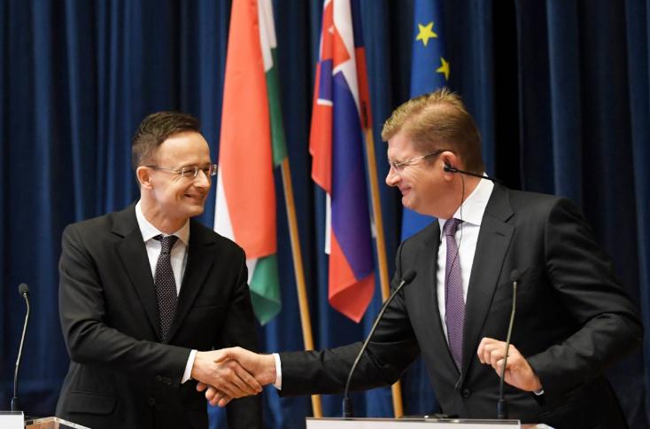 Szlovákia és Magyarország növeli a földgázszállítás kapacitását