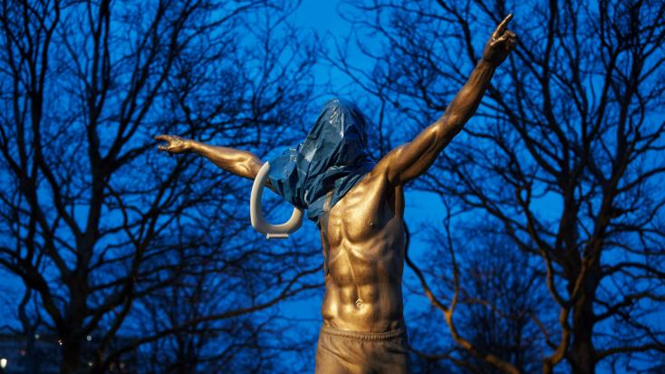 Malmö városa áthelyezné Ibrahimovic szobrát