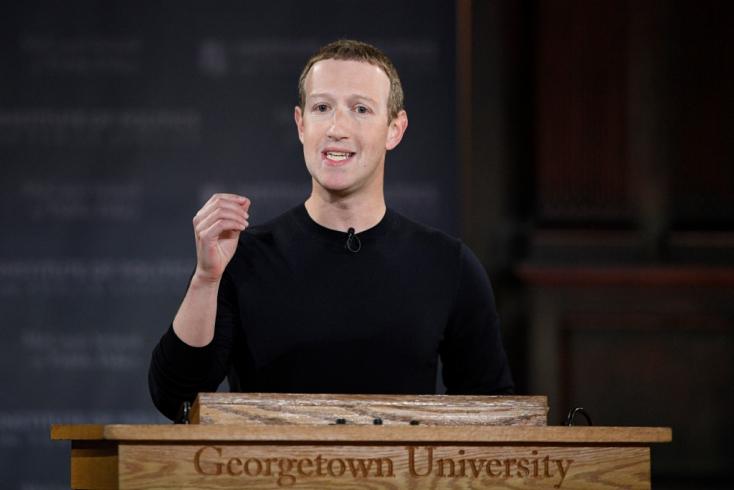 Trump féken tartását kérik a Facebooktól a tudósok, akiket Zuckerberg ösztöndíjban részesített