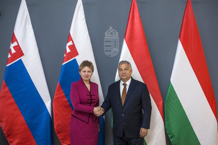 Čaputovát Orbán Viktor is fogadta Magyarországon - FOTÓK
