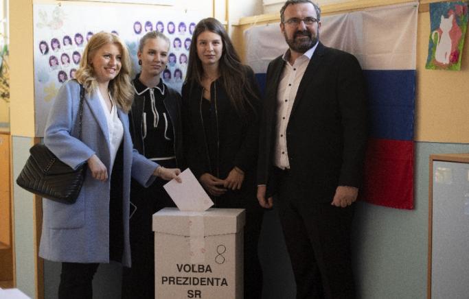 Čaputová: A legnagyobb tisztelettel kezelem a választást